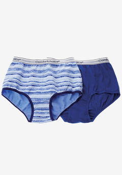 2-Pack Stretch Cotton Full-Cut Sports Brief by Comfort Choice®,