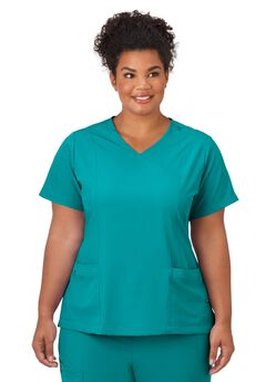 Jockey Scrubs Women's Mock Wrap Top,