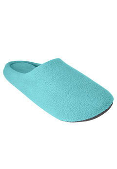 Clog Slipper with Cushioned Insoles by Dreams & Co.®, AZURE