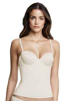 Dominique™ Paige seamless padded longline bra,