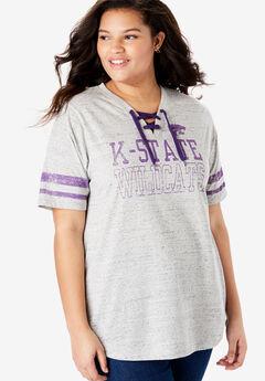 NCAA Lace-Up Tee,