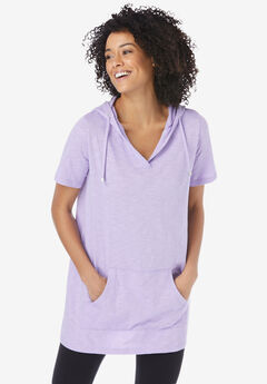 Pullover Tunic Hoodie,