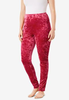 Crushed Velour Lounge Legging by Dreams & Co.®,