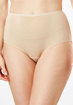 Full-Cut Brief by Comfort Choice®, NUDE, hi-res