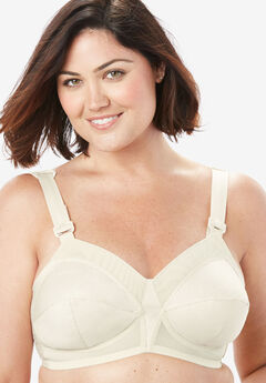 Exquisite Form® Fully® Original Support Wireless Bra #5100532, BEIGE