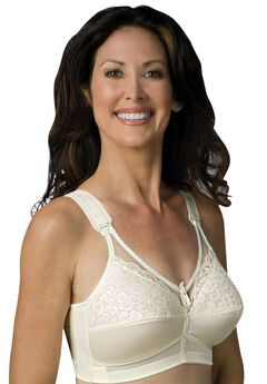 Sheer Comfort Back Hook Mastectomy Bra by Jodee ,