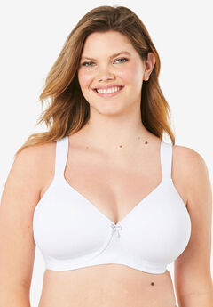 Leading Lady® Brigitte Classic Wirefree Padded T-Shirt Bra #5225,