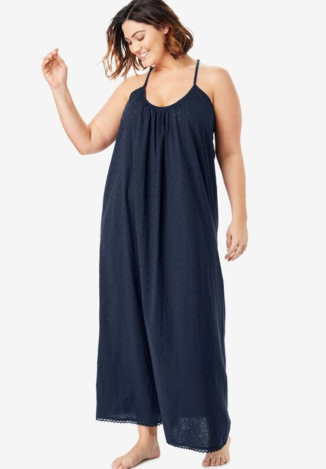 f488afff3 Breezy Eyelet Knit Long Nightgown by Dreams   Co.®