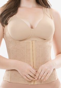 Cortland Intimates Firm Control Shaping Toursette 9609, NUDE