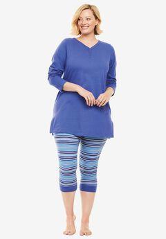 2-piece capri legging pj set by Dreams & Co.®,