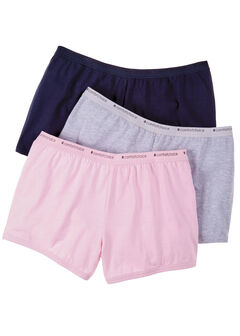 3-Pack Boyshorts by Comfort Choice®, BASIC PACK, hi-res