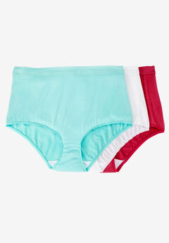 Modal 3-pack Brief by Comfort Choice®, BRIGHT PACK, hi-res