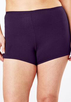 Boyshort By Comfort Choice®, RICH VIOLET, hi-res