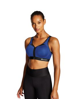 Motion Control Zip Sports Bra,
