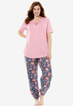 The Late-Night Jogger PJ Set by Dreams & Co®,