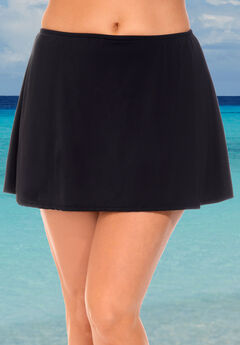 A-Line Swim Skirt with Built-In Brief ,