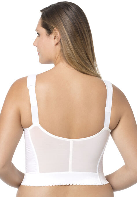 8d4ac94f049 Exquisite Form® Fully® Front-Close Wireless Longline Posture Bra  5107530