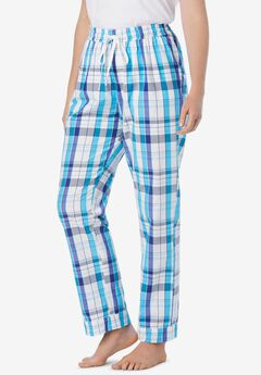 Cotton Poplin PJ Pant,