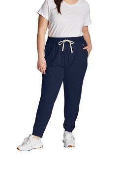 Women's Plus French Terry Joggers by Champion®,