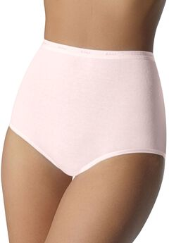 Full coverage stretch brief by Bali®, SILKEN PINK