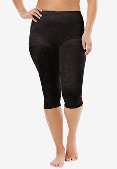 Cortland Foundations® capri pantliner., BLACK, hi-res