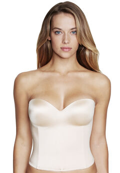 Dominique™ Hidden Underwire Longline Bra,