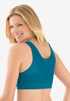 Lace Wireless Posture Bra by Comfort Choice®, DEEP TEAL