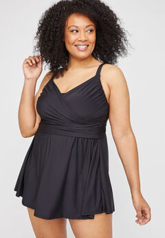 Amalfi Wrap Swimdress,