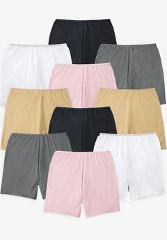 Comfort Choice® 10-Pack Cotton Boxer,
