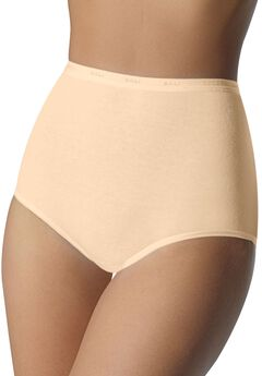 Full coverage stretch brief by Bali®, SOFT TAUPE
