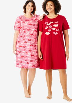 2-Pack Sleepshirt by Dreams & Co.®,