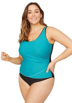 Sporty One Piece Swimsuit,