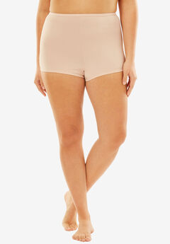 Stretch Microfiber Boyshort By Comfort Choice®, ROSE NUDE, hi-res