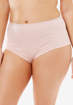 Hipster Stretch Cotton Panty By Comfort Choice®, ROSE NUDE, hi-res