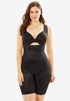 Body Shaper by Secret Solutions® Curvewear, BLACK, hi-res