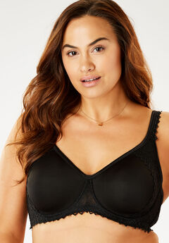 Secret Shaping Bra by Comfort Choice®, BLACK