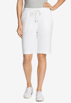 Sport Knit Short, WHITE