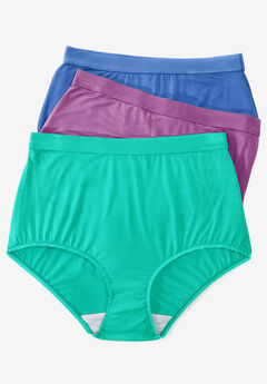 3-Pack Modal Full-Cut Brief by Comfort Choice®,