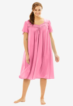 Full-Sweep Nightgown by Only Necessities®, GARDEN ROSE, hi-res
