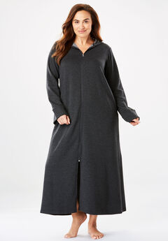 422e3d6f43 Hooded Fleece Robe by Dreams   Co.®