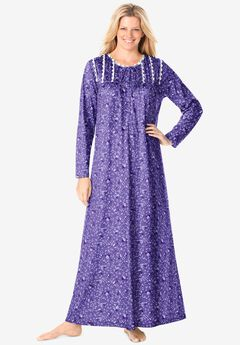 Floral Knit Gown by Only Necessities®,