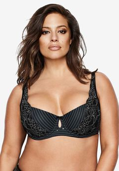 Essential Diva Bra by Ashley Graham®, BLACK