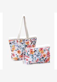 2-Piece Bag & Wristlet Set,
