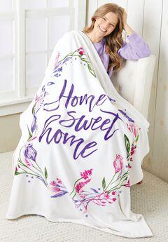 Home Sweet Home Blanket,