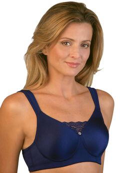Seamless Mastectomy Molded Bra by Jodee , MIDNIGHT BLUE