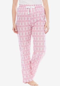 Cotton Print Pajama Pants by Dreams & Co.®,