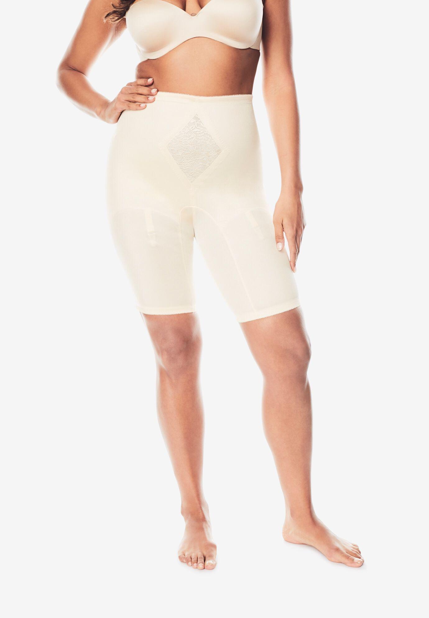 Cortland Foundations Womens Plus Size Cortland Intimates Firm Control Capri Pant Liner #7611
