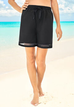 Color Block Mesh Short,