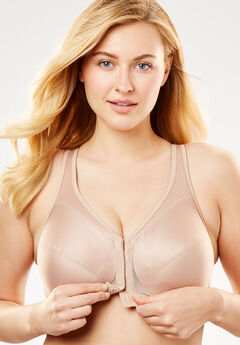 Glamorise® Magic Lift® Front-Close Posture Wireless Bra #1265,