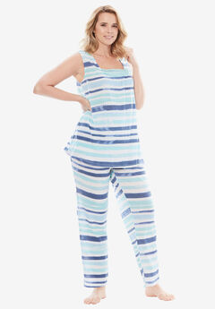 Whisperweight Gauze PJ Set by Dreams & Co.®,